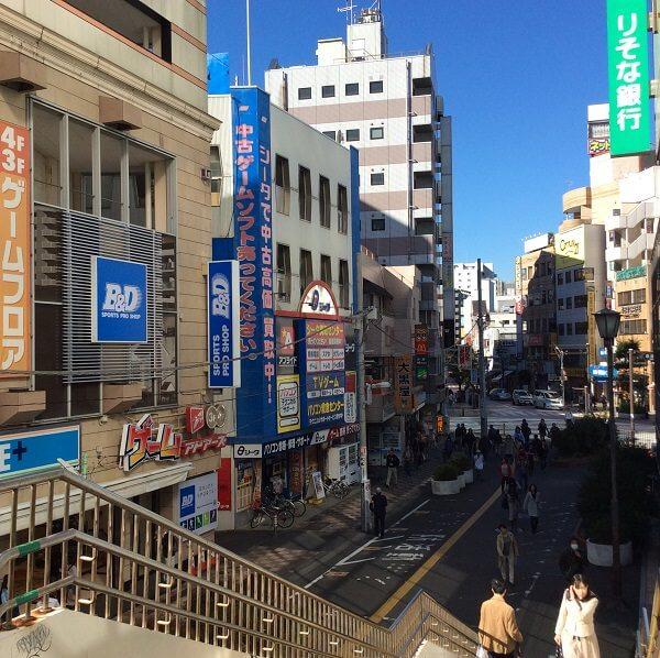 シータショップ 藤沢店への道順4