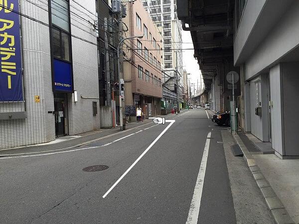 iFC 福岡博多店への道順4