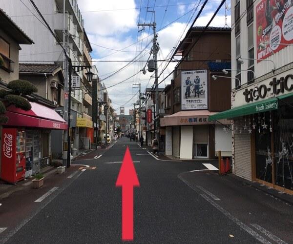 iCRaFT 東大阪近大前店までの道順6