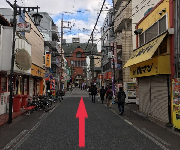 iCRaFT 東大阪近大前店までの道順7