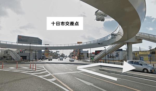 mobile.com 岡山店への道順4
