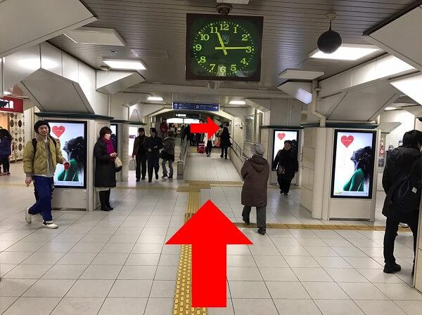 iPLaNT神戸三宮駅前店への道順2