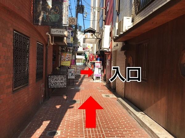 iPLaNT神戸三宮駅前店への道順9