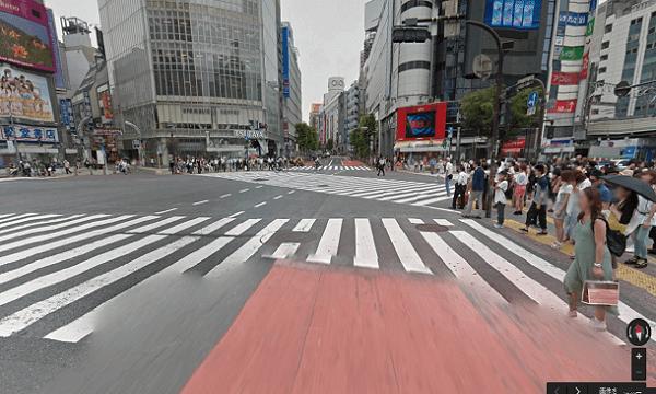 icracked渋谷店への道順1