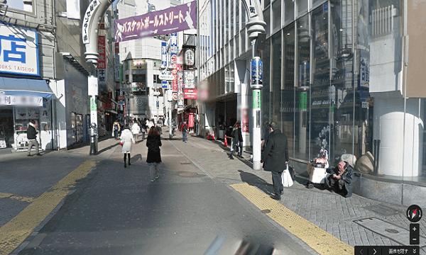 icracked渋谷店への道順2