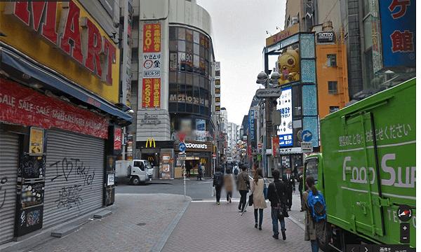 icracked渋谷店への道順3