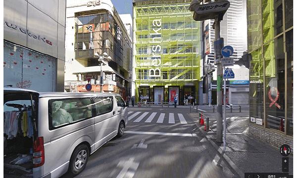 icracked渋谷店への道順4