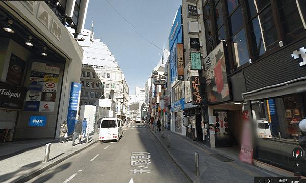 icracked渋谷店への道順6