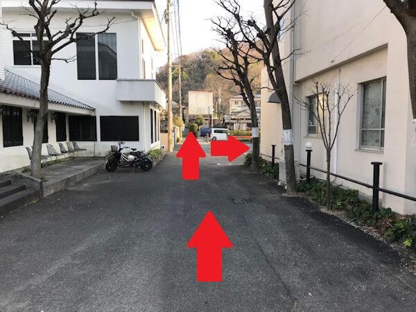 スマフォドクター 愛媛松山店への道順3