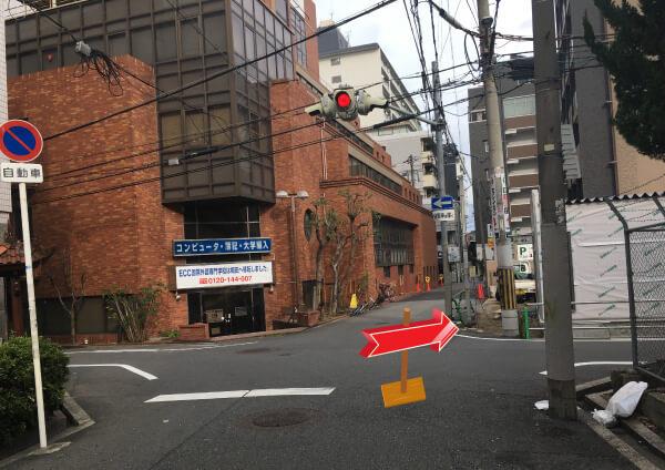 suuk天王寺店への道順3