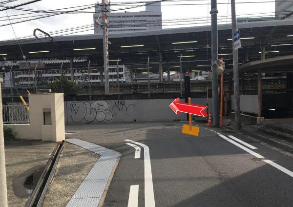 suuk天王寺店への道順4