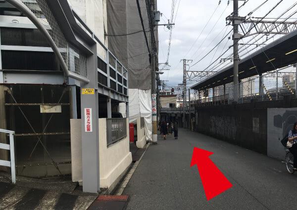 suuk天王寺店への道順5