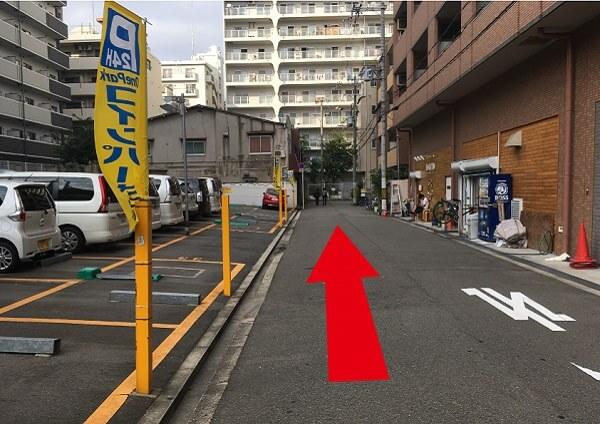 suuk天王寺店への道順7