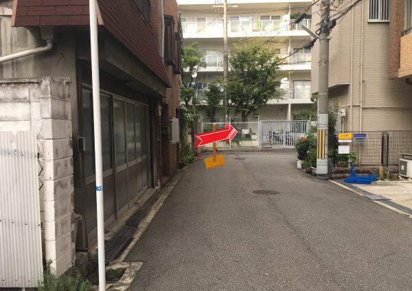 suuk天王寺店への道順8