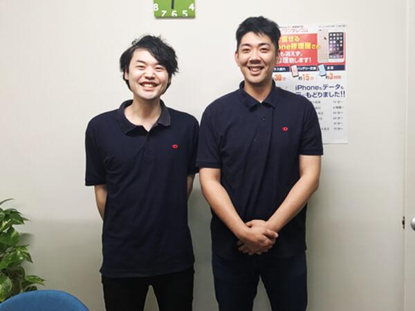 ダイワンテレコム 梅田本店のスタッフさんの写真