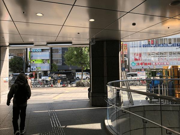 ダイワンテレコム梅田店への道順3