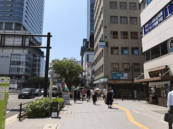 ダイワンテレコム梅田店への道順5