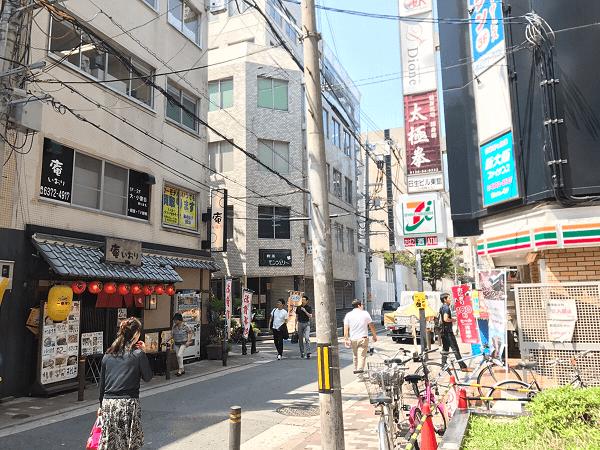 ダイワンテレコム梅田店への道順6